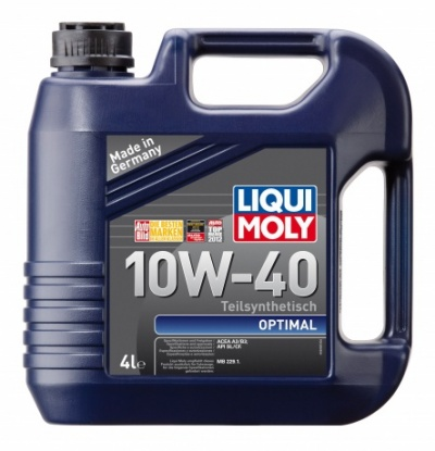 3930 LiquiMoly Optimal Synth 10w40 п/синт                           4л