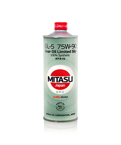 MITASU GEAR OIL GL-5 75W-90 LSD синт       1л