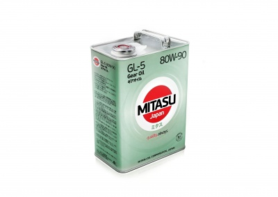 MITASU GEAR OIL GL-5 80W-90 минер.       4л