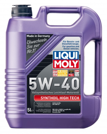 1925 LiquiMoly Synthoil High Tech 5W-40 синт                      5л
