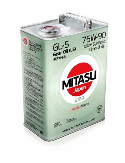 MITASU GEAR OIL GL-5 75W-90 LSD синт       4л