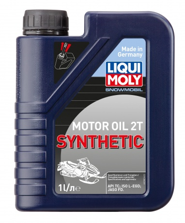 2382 LiquiMoly Snowmobil 2T Synthetic TC  1л
