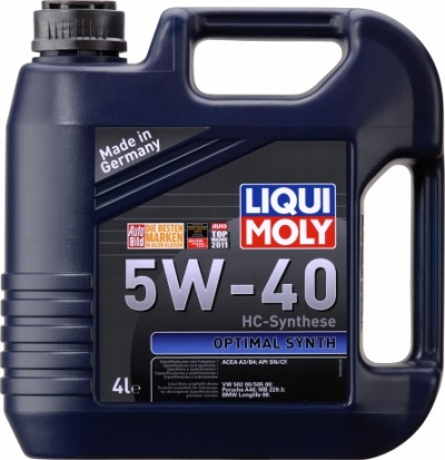 3926 LiquiMoly Optimal Synth 5W-40 нс/синт                         4л