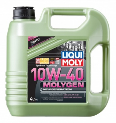 9060 LiquiMoly Molygen New Generation 10W-40 нс/синт      4л