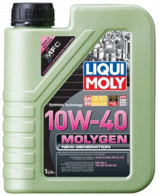 9059 LiquiMoly Molygen New Generation 10W-40 нс/синт      1л